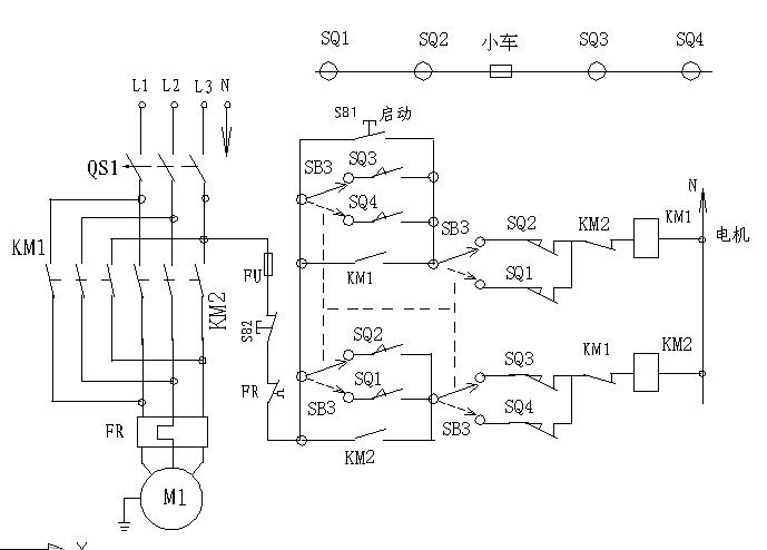 环链电动葫芦电机接线图